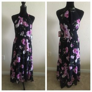 NWT Vince Camuto Floral Sleeveless Maxi Dress